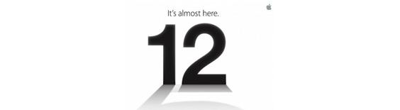 9月12日苹果iPhone 5发布会