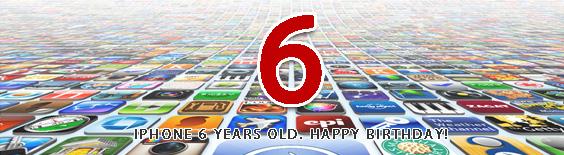 iPhone发布6周年庆
