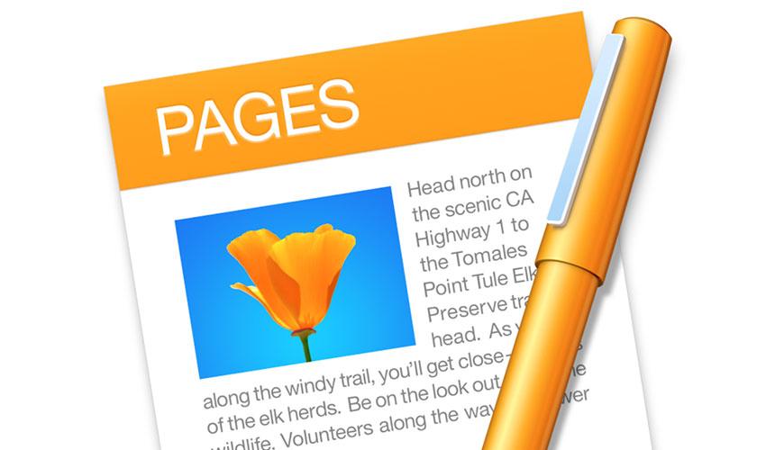 Apple Pages办公软件认证