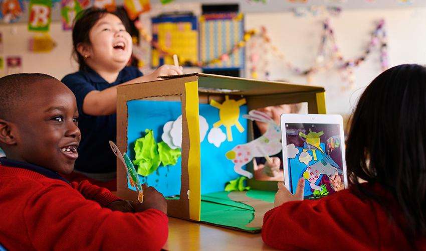 苹果发布新的「人人能创造」课程