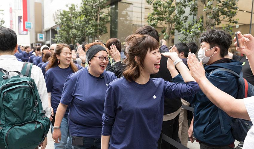 苹果软件岗位招聘人数首次超过硬件