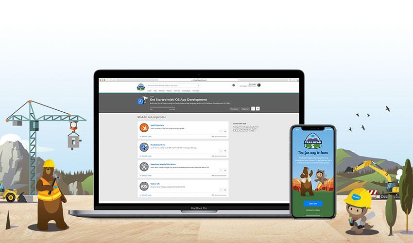 Apple 与 Salesforce 携手商务 App 开发合作